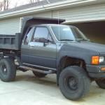 1985 Toyota 4x4 dump truck